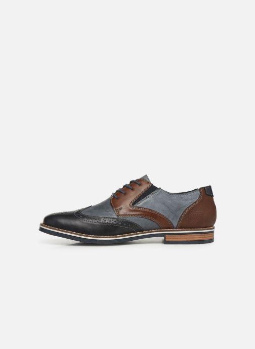 Zapatos con cordones Rieker Tymeo 13520 Azul vista de frente