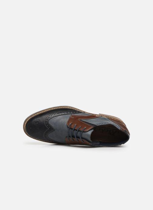 Zapatos con cordones Rieker Tymeo 13520 Azul vista lateral izquierda