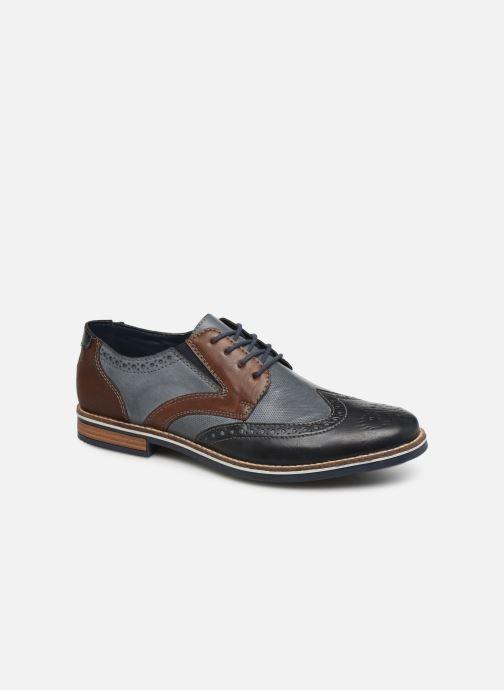 Zapatos con cordones Rieker Tymeo 13520 Azul vista de detalle / par