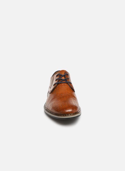 Lace-up shoes Rieker Flavio 16811 Brown model view