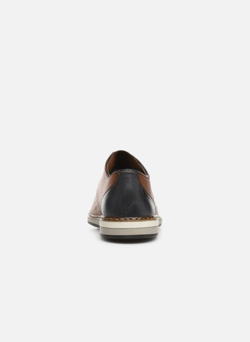 Lace-up shoes Rieker Flavio 16811 Brown view from the right