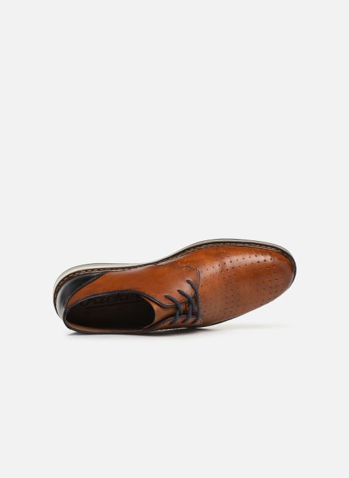 Lace-up shoes Rieker Flavio 16811 Brown view from the left