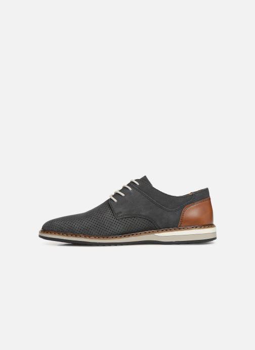 Chaussures à lacets Rieker Gianni 16815 Bleu vue face
