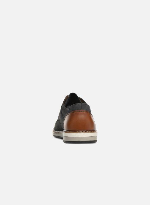 Chaussures à lacets Rieker Gianni 16815 Bleu vue droite