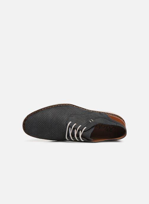Chaussures à lacets Rieker Gianni 16815 Bleu vue gauche