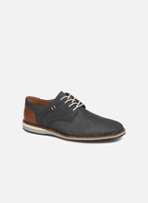 Chaussures à lacets Rieker Gianni 16815 Bleu vue détail/paire