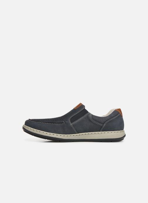 Loafers Rieker Aubin 17356 Blå se forfra