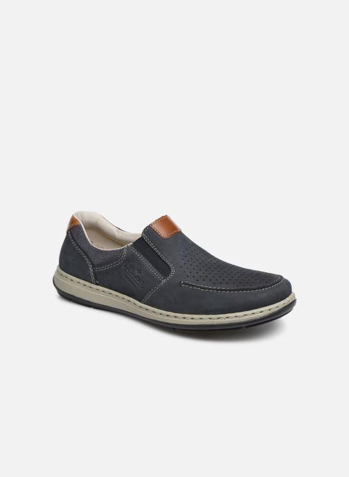 Loafers Rieker Aubin 17356 Blå detaljeret billede af skoene