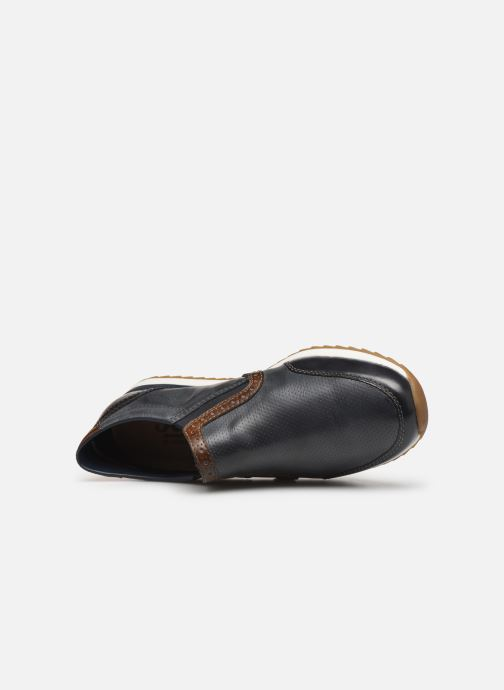 Loafers Rieker Kais 19360 Grey view from the left
