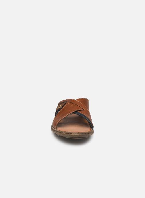 Sandales et nu-pieds Rieker Kems 22099 Marron vue portées chaussures