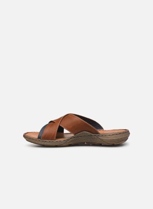 Sandales et nu-pieds Rieker Kems 22099 Marron vue face
