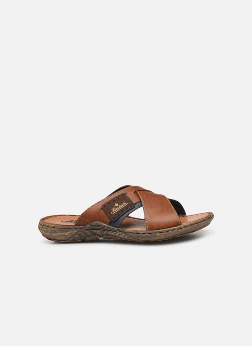 Sandales et nu-pieds Rieker Kems 22099 Marron vue derrière