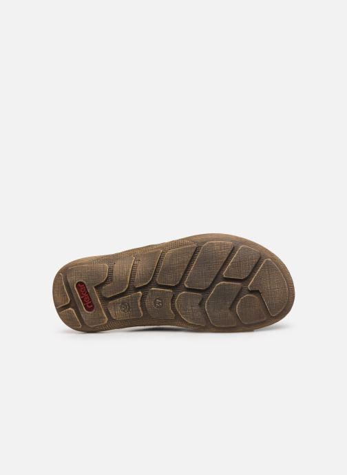 Sandales et nu-pieds Rieker Kems 22099 Marron vue haut