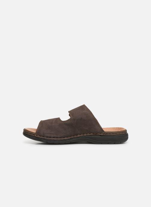 Sandales et nu-pieds Rieker Cece Marron vue face