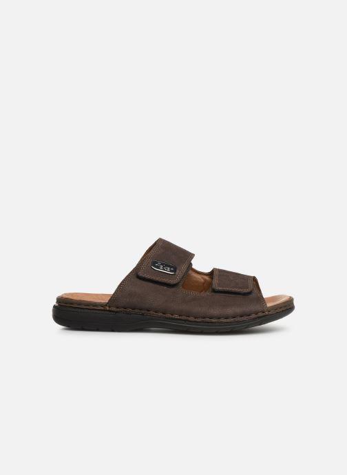 Sandales et nu-pieds Rieker Cece Marron vue derrière