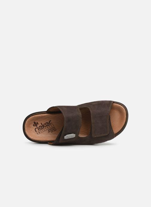 Sandales et nu-pieds Rieker Cece 25590 Marron vue gauche