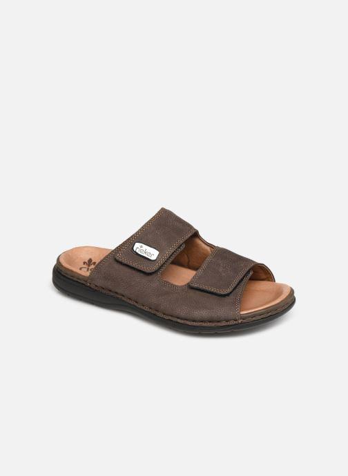 Sandales et nu-pieds Rieker Cece Marron vue détail/paire