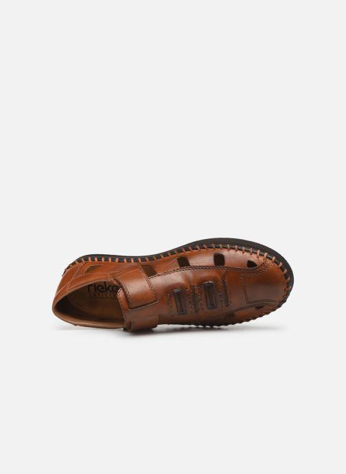 Sandales et nu-pieds Rieker Calen 2983 Marron vue gauche