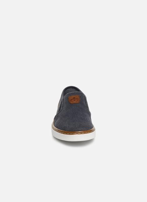 Mocassins Rieker Amin B4962 Bleu vue portées chaussures