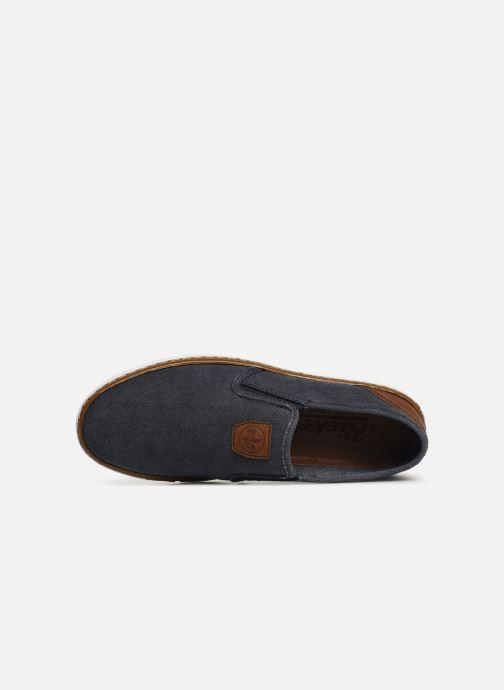 Loafers Rieker Amin B4962 Blå se fra venstre