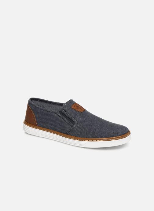 Loafers Rieker Amin B4962 Blå detaljeret billede af skoene