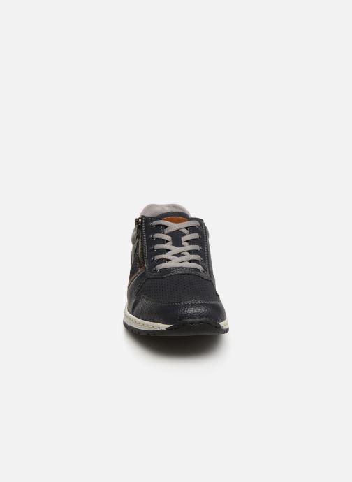 Baskets Rieker Gorgy 5125 Bleu vue portées chaussures