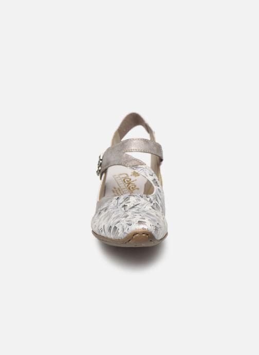 Escarpins Rieker Philae 49787 Gris vue portées chaussures