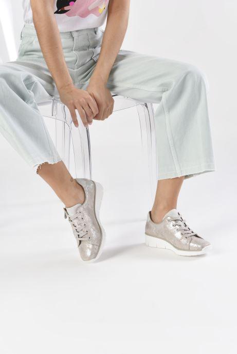 Sneakers Rieker Liloa Rosa immagine dal basso