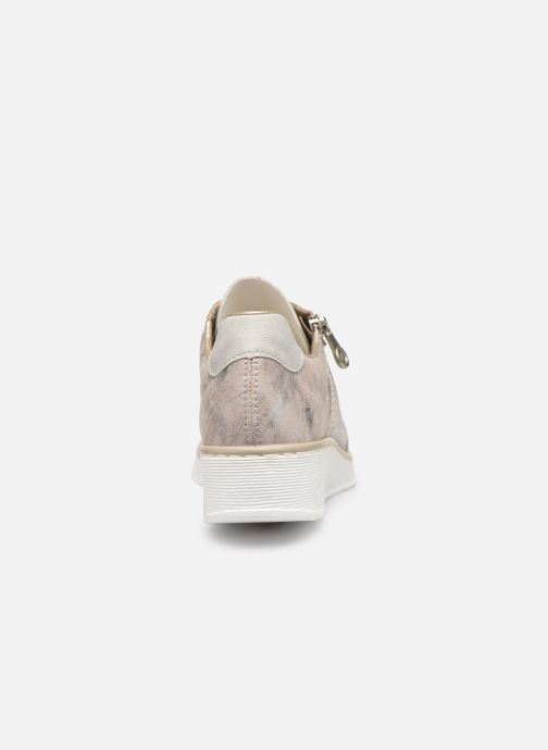 Trainers Rieker Liloa Pink view from the right