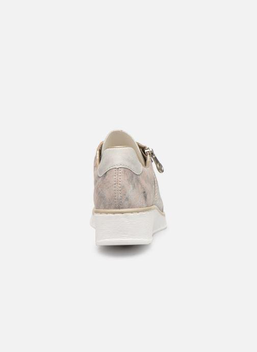 Sneakers Rieker Liloa Pink Se fra højre