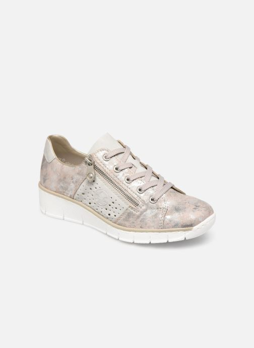 Trainers Rieker Liloa 53715 Pink detailed view/ Pair view