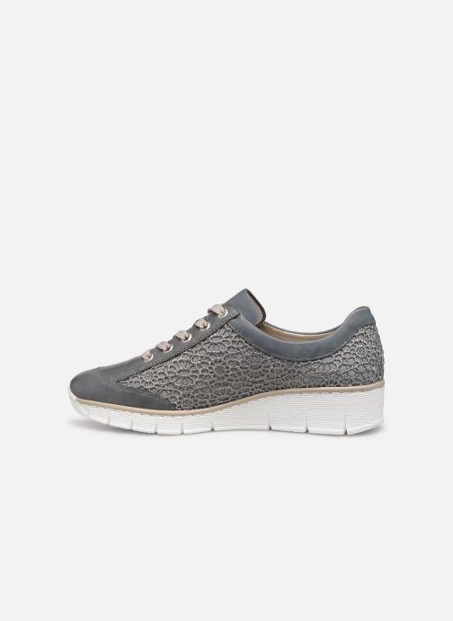 Sneakers Rieker Ryne 537M1 Blauw voorkant