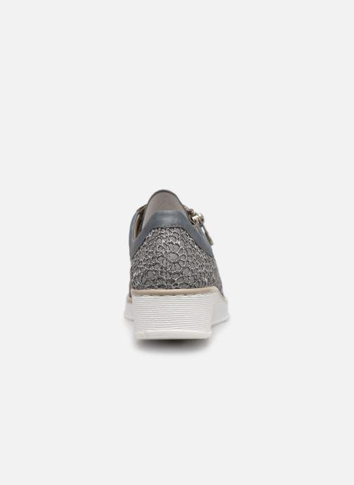 Sneakers Rieker Ryne 537M1 Blauw rechts