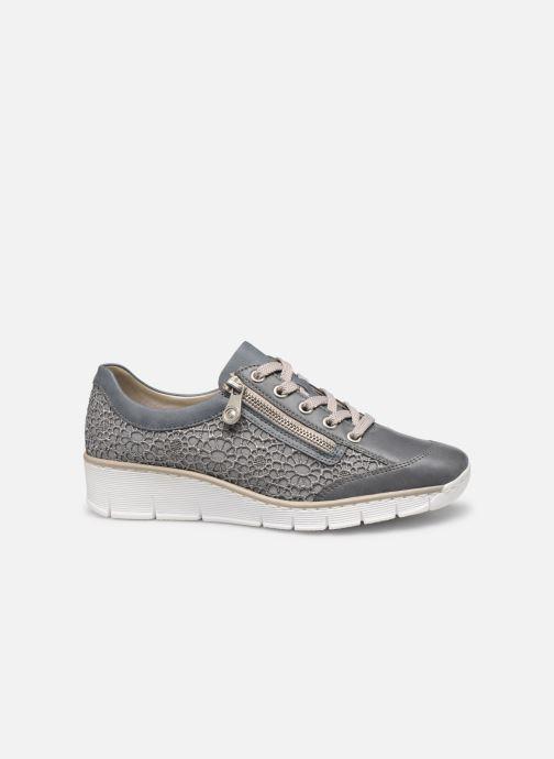Sneakers Rieker Ryne 537M1 Blauw achterkant