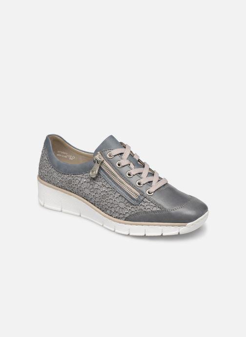 Sneakers Rieker Ryne 537M1 Blauw detail