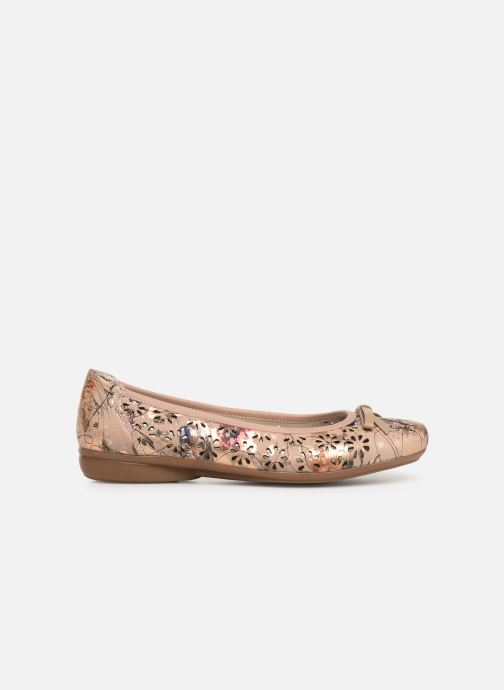 Ballet pumps Rieker Idyl L8356 Pink back view