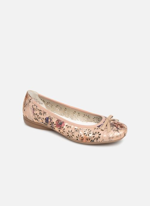 Ballet pumps Rieker Idyl L8356 Pink detailed view/ Pair view