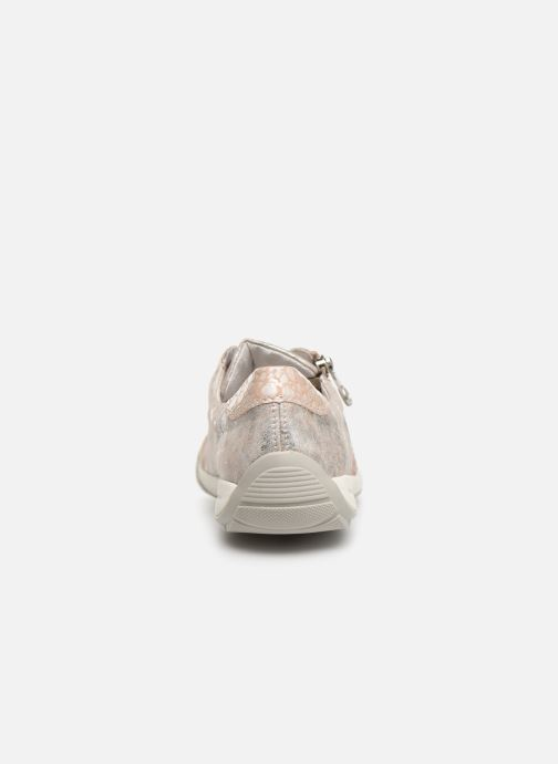 Trainers Rieker Eneka M3036 Pink view from the right