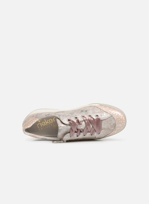 Trainers Rieker Eneka M3036 Pink view from the left