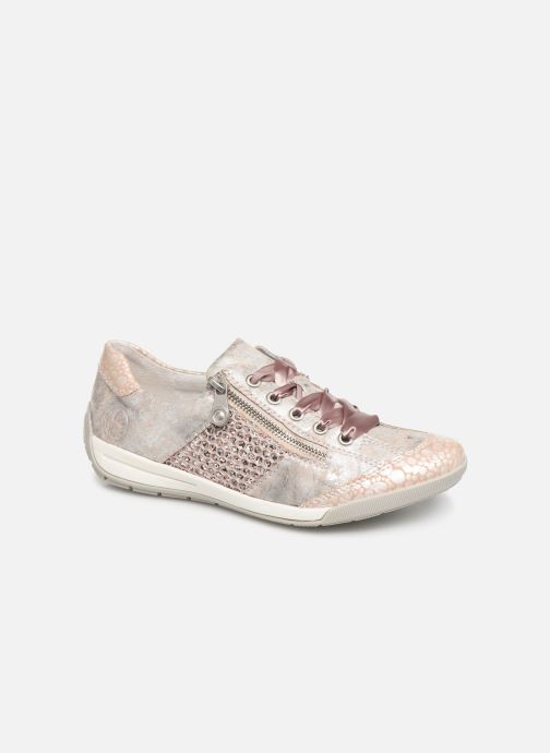 Trainers Rieker Eneka M3036 Pink detailed view/ Pair view