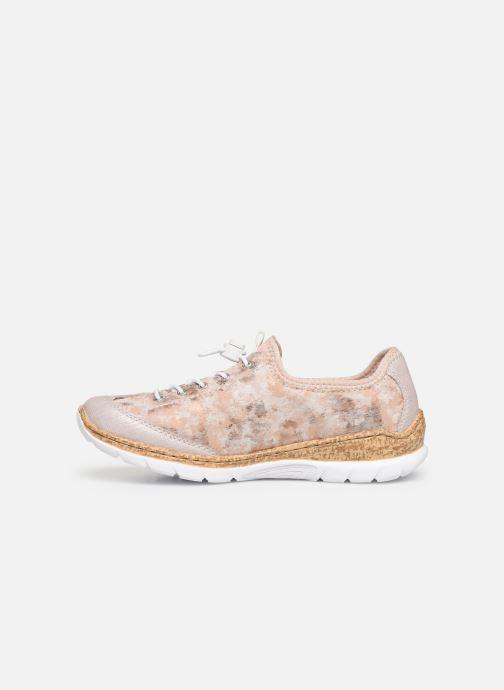 Sneaker Rieker Ocelia N4263 rosa ansicht von vorne
