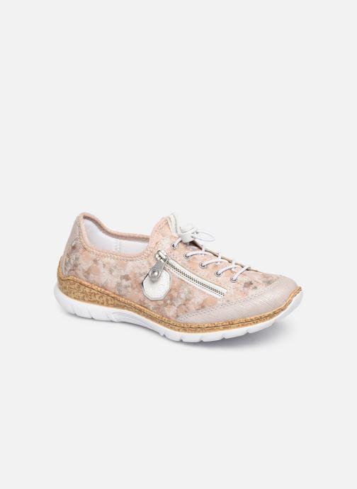 Sneaker Rieker Ocelia N4263 rosa detaillierte ansicht/modell