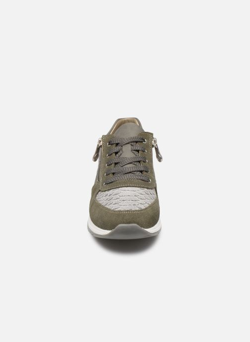 Baskets Rieker Vandea N7022 Vert vue portées chaussures