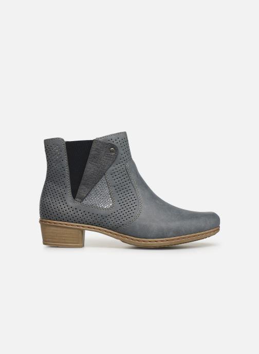 Ankle boots Rieker Leria Y0757 Blue back view