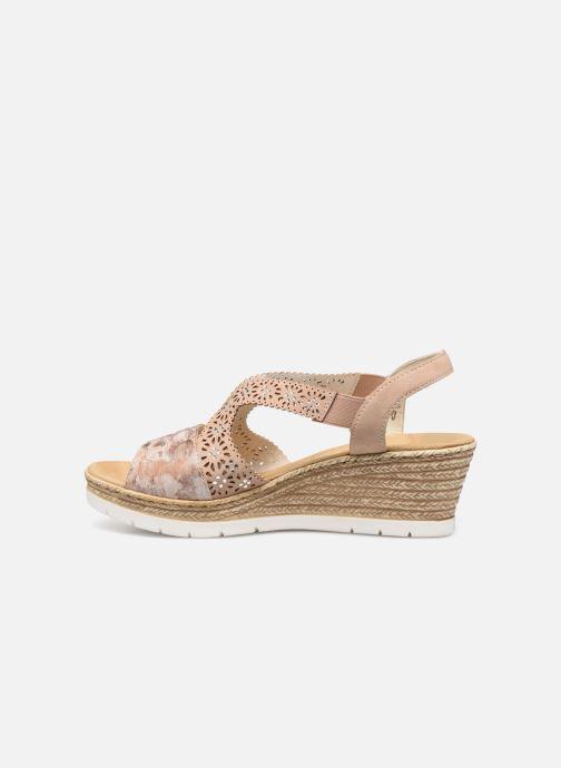 Sandales et nu-pieds Rieker Edna Rose vue face
