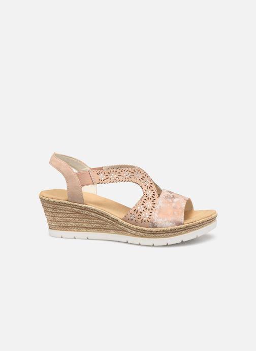 Sandales et nu-pieds Rieker Edna Rose vue derrière