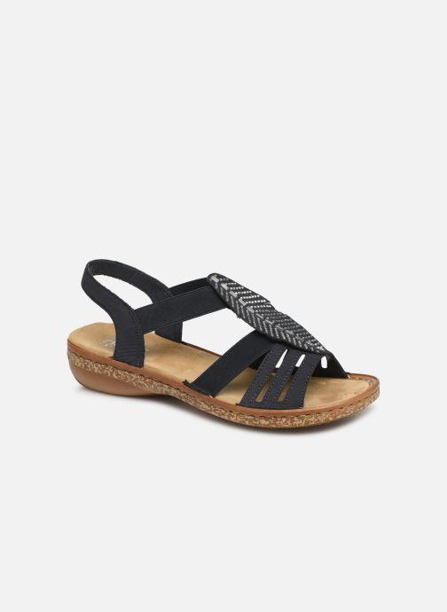 Sandales et nu-pieds Rieker Vayana 628G6 Bleu vue détail/paire