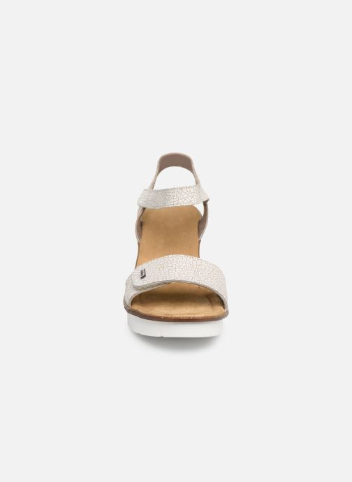 Sandals Rieker Eya 65554 White model view
