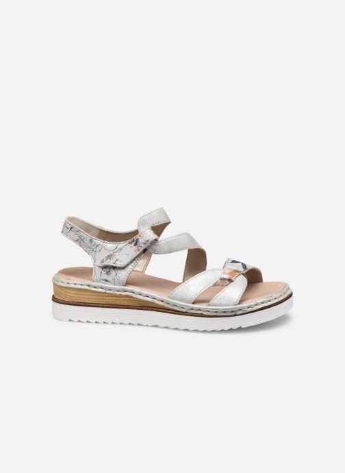 Sandales et nu-pieds Rieker Judie Gris vue derrière