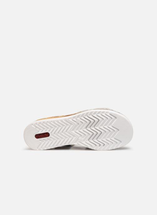 Sandales et nu-pieds Rieker Judie Gris vue haut